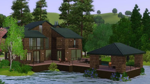 Haus am see wallpaper  Sims-3.net » Creator's Camp Woche 2
