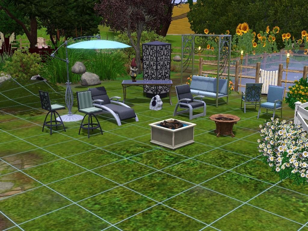 sims garten accessoires. Black Bedroom Furniture Sets. Home Design Ideas