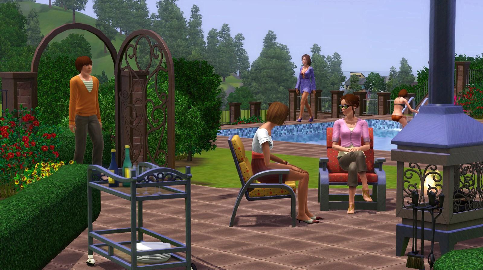 Sims 3 Garten Accessoires