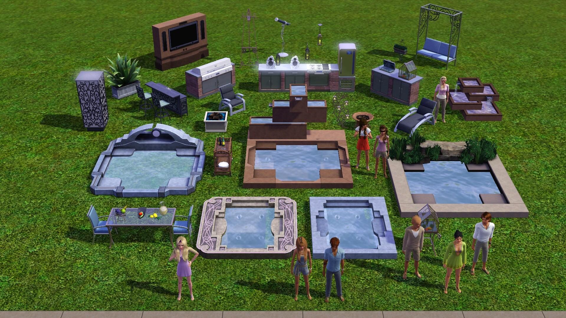 Sims garten accessoires - Design garten ...