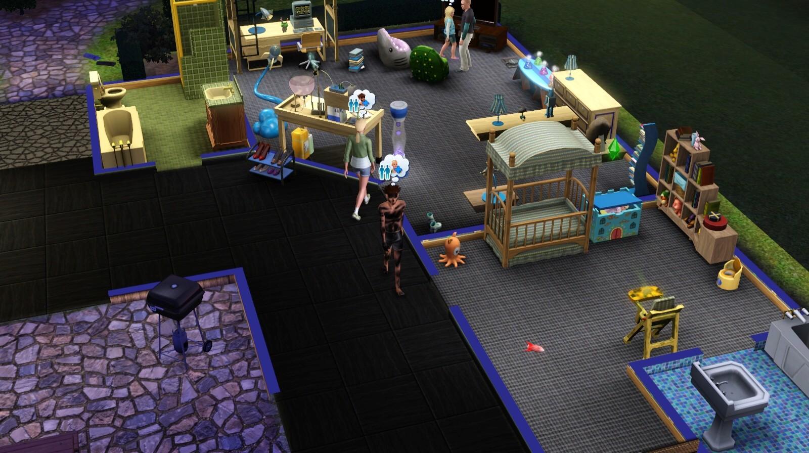 sims spielbericht zu die sims 3 lebensfreude. Black Bedroom Furniture Sets. Home Design Ideas